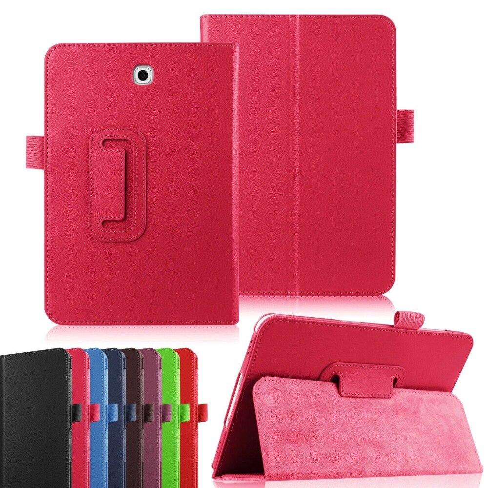 Funda Case For Samsung Galaxy Tab A T350 Stand PU Leather Cover Case For Samsung Galaxy Tab A 8.0 T350 T355 8\