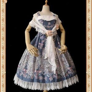 Image 1 - Zoete Witte Lolita Kant Sjaal Lange vrouwen Sjaals door Infanta