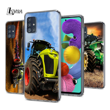 Tractors Car For Samsung Galaxy S20Ultra S20 Plus S10 Lite A01 A11 A21 A21S A31 A41 A42 A51 A71 A81 Phone Case