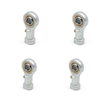 4 Uds PHS6 M6 agujero 6mm métrico ojo de pez varilla extremos cojinete hilo femenino bola articulación mano derecha