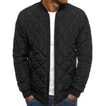 Зимние куртки для мужчин теплая верхняя одежда куртка-бомбер уличная chaqueta hombre