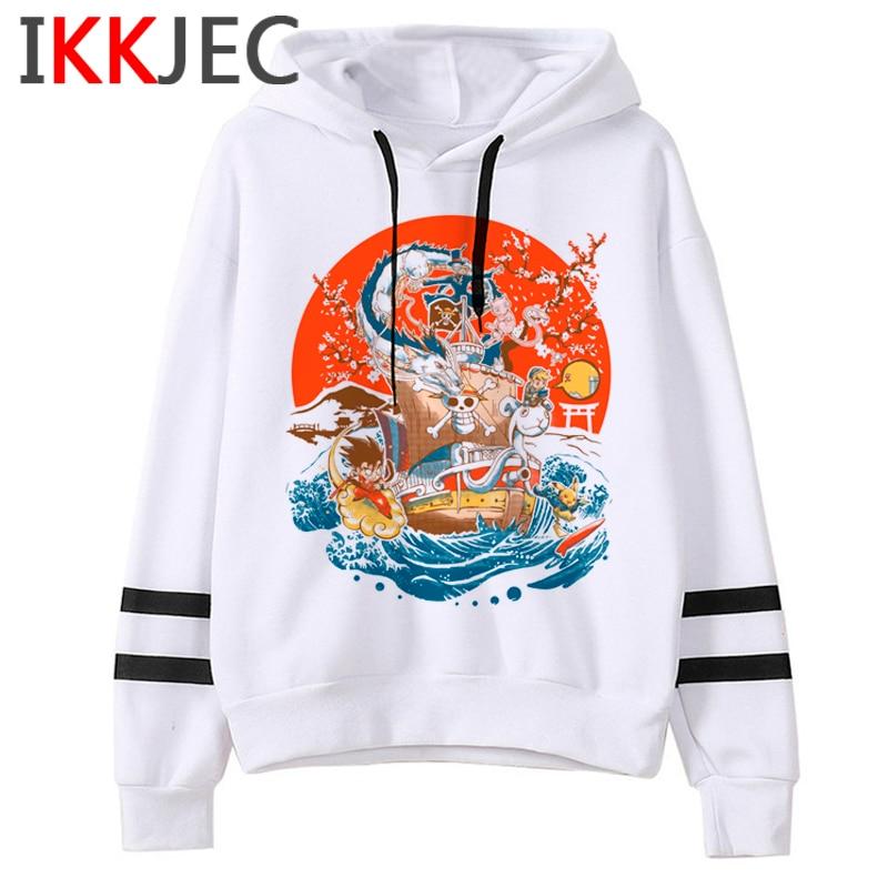 Pokemon Go Funny Cartoon Warm Hoodies Men/women Cute Pikachu Japanese Anime Sweatshirts Fashion 90s Steetwear Hoody Male/female 5