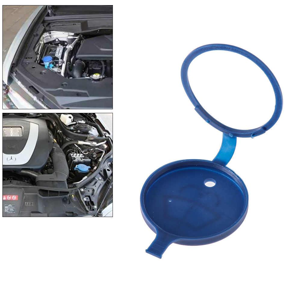 Yeni araba ön cam sileceği haznesi yıkama şişesi kapak en iyi araba cam evrensel yedek parça Eservoir yıkama kapağı