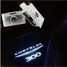 Светодиодный сигнальный фонарь для двери автомобиля Chrysler 300 300c 200 200c Sebring Lancia Thema лазерный логотип проектор декоративная лампа аксессуары