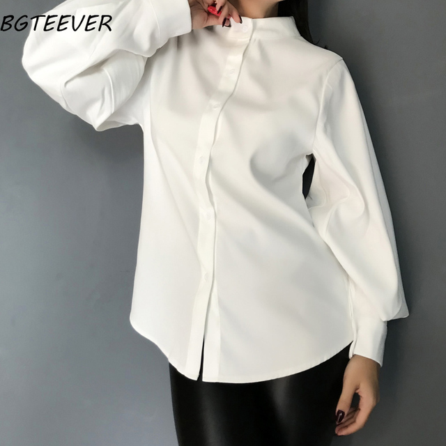 Vintage Stand Collar Blouse 2