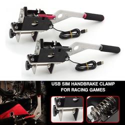 Pcmos SIM USB Ручной тормоз зажим для гоночных игр G25/27/29 T500 FANATECOSW DIRT RALLY UR Автозапчасти для ручного тормоза Новый
