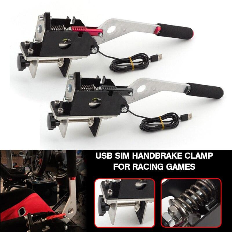 Pcmos SIM USB abrazadera de freno de mano para juegos de carreras G25/27/29 T500 FANATECOSW DIRT RALLY UR Auto Piezas de Repuesto freno de mano nuevo