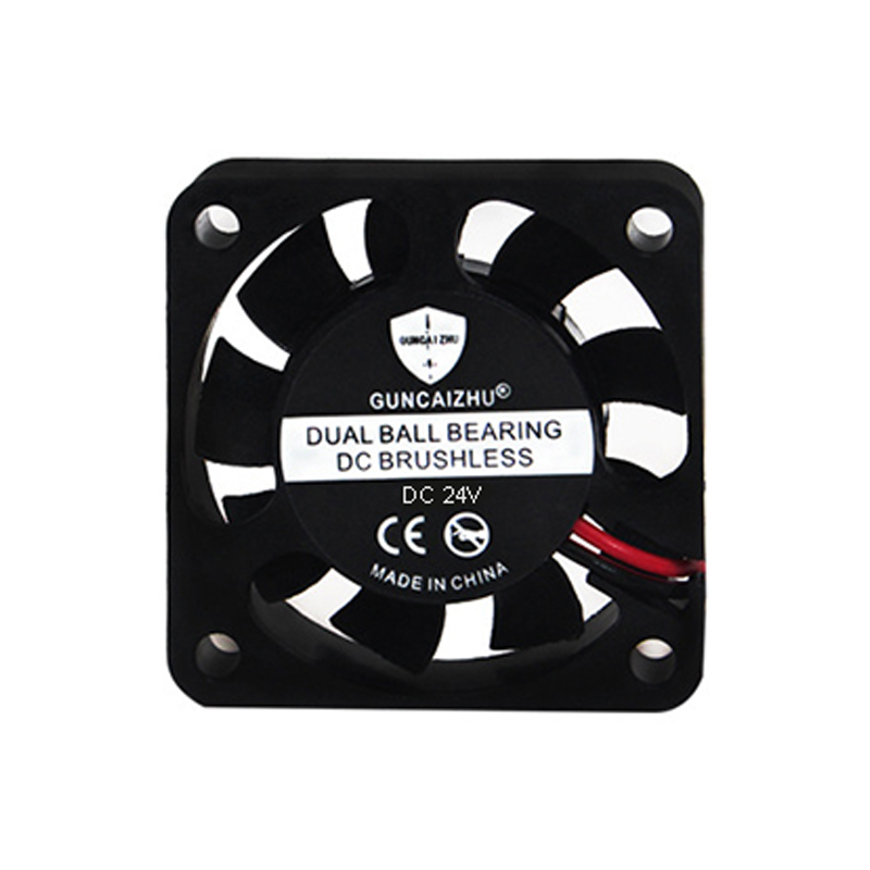 1PC Quiet Silent Hot End Cooling Fan W/ A <font><b>2</b></font> Pin JST-XH Connector 24V 40mm 4010 <font><b>3D</b></font> Printer Accessories For <font><b>Ender</b></font> 3 5 Pro image