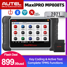 Autel MaxiPRO MP808TS OBD2 Scanner Full System Car Diagnostic Tool Wi-Fi Bluetooth Auto Tools Bi-Directional Control