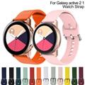 Neue Strap Für Samsung Galaxy Uhr Aktive 2 40 44mm 3 Getriebe sport handgelenk armband Ersatz armband 20mm uhr strap band