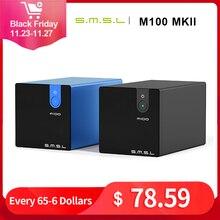 SMSL M100 MKII Âm Thanh Đắc USB XMOS XCore200XU208 PCM768k/DSD512 Native DSD SABRE9018Q2C THD 0.0003% Bộ Giải Mã Âm Thanh