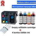 803 многоразовый чернильный картридж Edibel 400 мл Съедобные чернила для кофейного принтера для замены пищевых принтеров hp 803BK 803 цвет