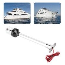 6/12 אינץ LED אור 360 תואר עגול אורות אלומיניום מוט עמיד למים שיט סירת מנורת עבור יאכטה סירה ימי אבזר