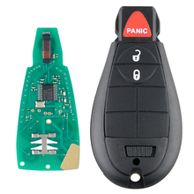 цена на 433MHz 3 Buttons Remote Car Key Fob with Chip GQ4-53T Car Key Replacement for Dodge 2013 - 2018 DODGE RAM 1500 2500 3500