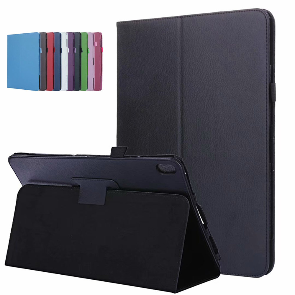 Folding Flip PU Leather Stand Case  For Lenovo IdeaTab A10-70 A7600 A7600-h / A7600-f A10-80 A10-80HC 10.1 Inch Tablet Cover