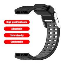 Bracelet de rechange en Silicone pour montre connectée, élément confortable, élégant, Double couleur, pour Polar V800