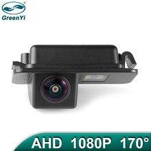 Greenyi 170 ° 1920*1080p hd ahd visão noturna veículo vista traseira câmera reversa para ford mondeo fiesta foco hatchback s-max kuga