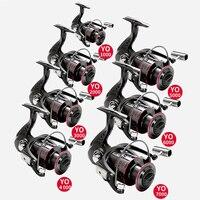GHOTDA 5.2:1 Fishing Reel 1000-7000 Series Spinning Reel 12KG Max. Drag Carp Fishing Tackles