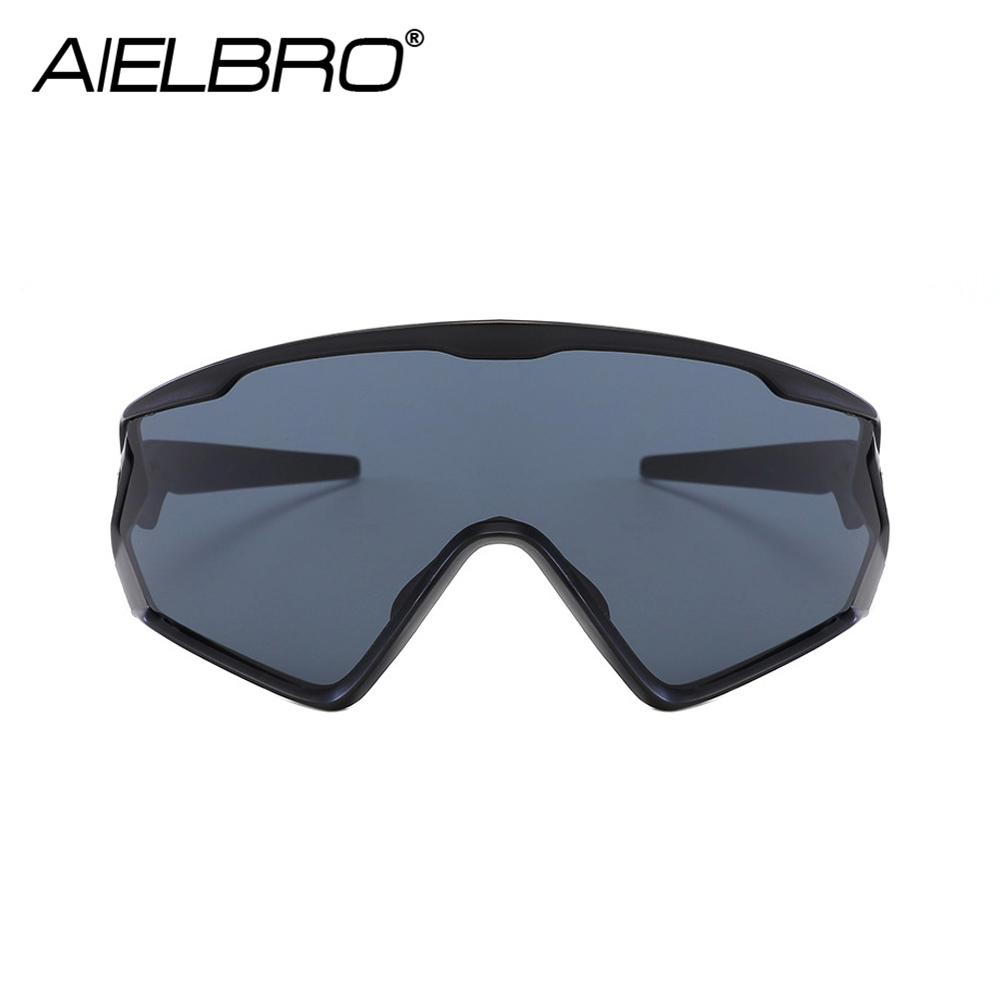 AIELBRO 2019 Men Women Cycling Glasses Mountain Bike Road Sunglases Bicycle Goggles Gafas Ciclismo Oculos Carretera Occhiali in Cycling Eyewear from Sports Entertainment