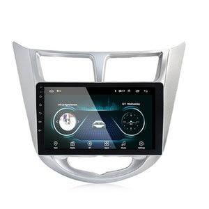 Image 3 - 92 الدين أندرويد 9.1 مشغل أسطوانات للسيارة الحديثة سولاريس أكسنت فيرنا 2011 2016 راديو مسجل لتحديد المواقع واي فاي usb DAB + audio