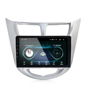 Image 3 - 92 din Android 9,1 auto DVD player für moderne Solaris accent Verna 2011 2016 radio recorder Gps WIFI usb DAB + audio