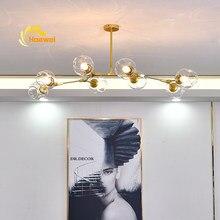 Plafonnier Led suspendu au design nordique, luminaire décoratif d'intérieur, idéal pour un salon, un LOFT, une salle à manger ou une cuisine