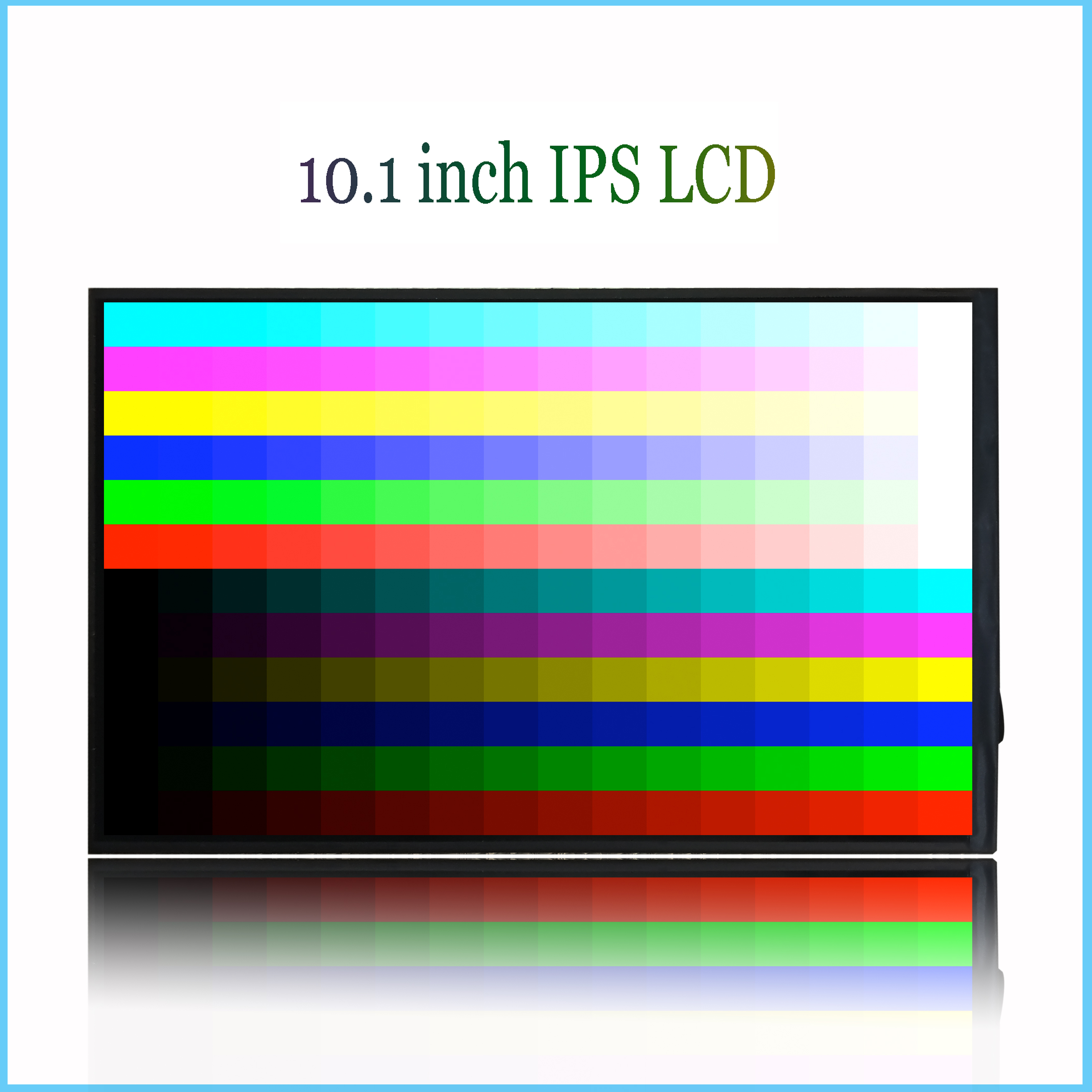 10.1 Inch 40pin LCD Screen Display Matrix For FPC101BH4031_B FPC101BH4031 ZS101BH4031J4H8II-T Display Tablet PC LCD Screen