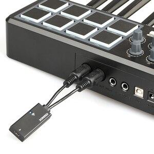 DOREMiDi MTB-22 USB к MIDI кабель Электрический пианино барабан гитара Музыка компилировать Интерфейс адаптер кабель конвертер