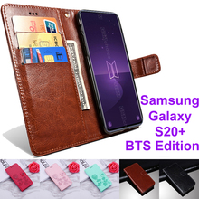 Flip Case For Samsung Galaxy S20+BTS Edition Cover Protectio