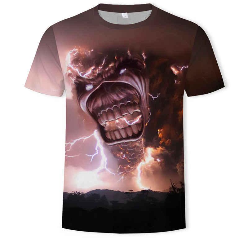 AC DC المعادن الثقيلة الموسيقى بارد موسيقى الروك الكلاسيكية الجمجمة رئيس تي شيرت الأزياء Rocksir T قميص الرجال 3D تي شيرت DJ التي شيرت قميص رجالي