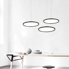 Ultra fino moderno led pingente luzes para sala de jantar loja bar projeto sala de estar pingente lâmpada 110 v 220 v pendurado luzes luminárias