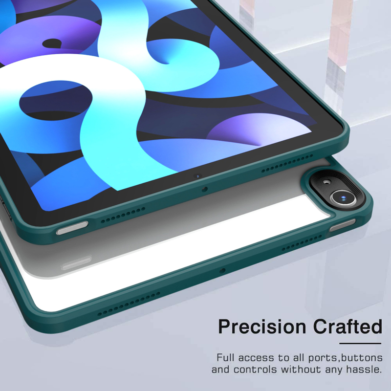 Case Ultra Protective Hybrid Thin Air 4 For PC TPU Bumper Case + iPad Tablet Shockproof