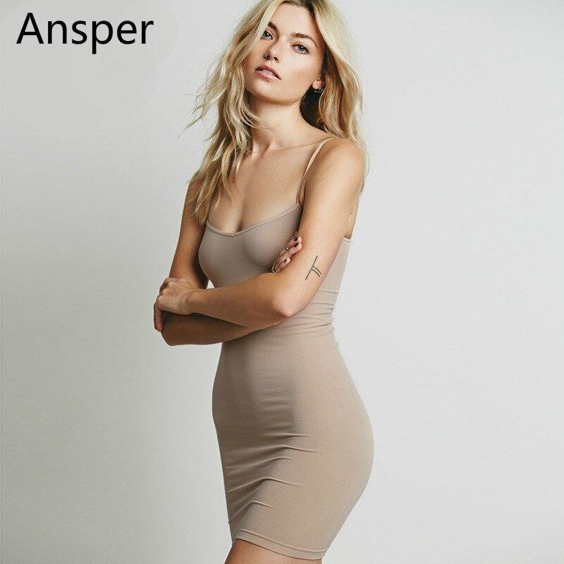 Déshabillés camisolas elegantes das mulheres de seda sexy deslizamentos completos vestido longo petticoat underskirt underdress sólida para menina interior 9 cores