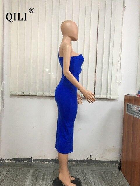 Купить qili летнее платье на одно плечо белые черные синие облегающие картинки цена