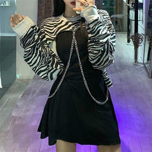 Готическое платье y2k женское пикантное леопардовое вечернее