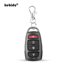 Kebidu 433 mhz portão de clonagem controle remoto automático para porta da garagem controle remoto portátil duplicador chave