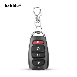 Image 1 - kebidu 433 MHz Auto Remote Control Cloning Gate for Garage Door Remote Control Portable Duplicator Key