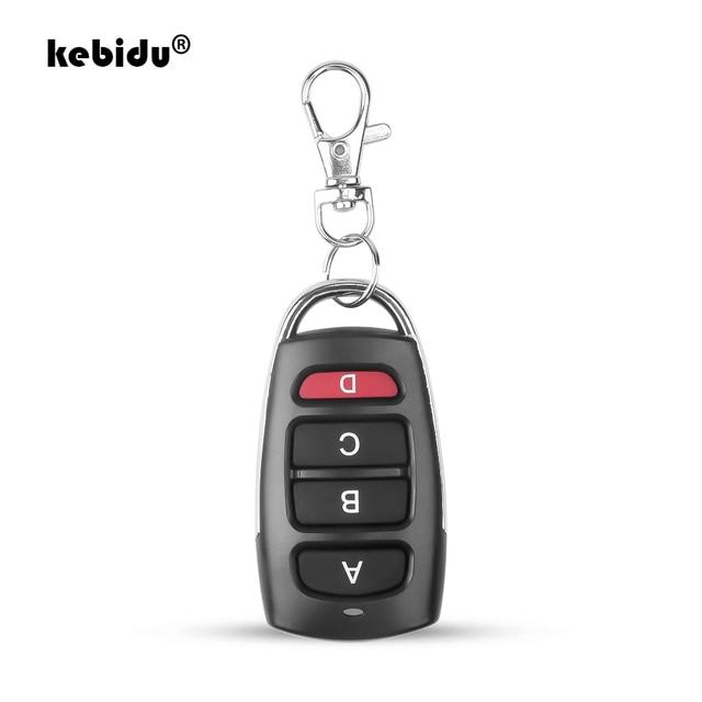 kebidu 433 MHz Auto Remote Control Cloning Gate for Garage Door Remote Control Portable Duplicator Key