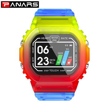 Smart Watches PANARS Men Women IP67 Waterproof 17 Languages Heart Rate Monitor Blood Pressure For Android /IOS System
