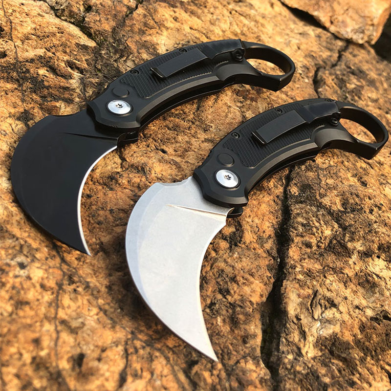 2020 New Products Micro Technology Knives MT Knife Aviation Aluminum Alloy Handle Outdoor Camping Survival Self  EDC Tools