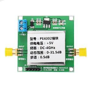 Image 1 - PE4302 cyfrowy moduł tłumika krokowego RF DC 4GHZ 0 31.5DB 0.5dB wysoka liniowość