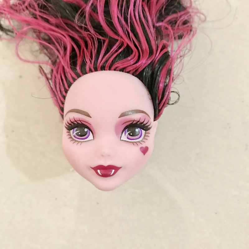 1pcs Monster Dolls Head Randomly Send Originals Doll Accessories With High Quality Gifts For Girls