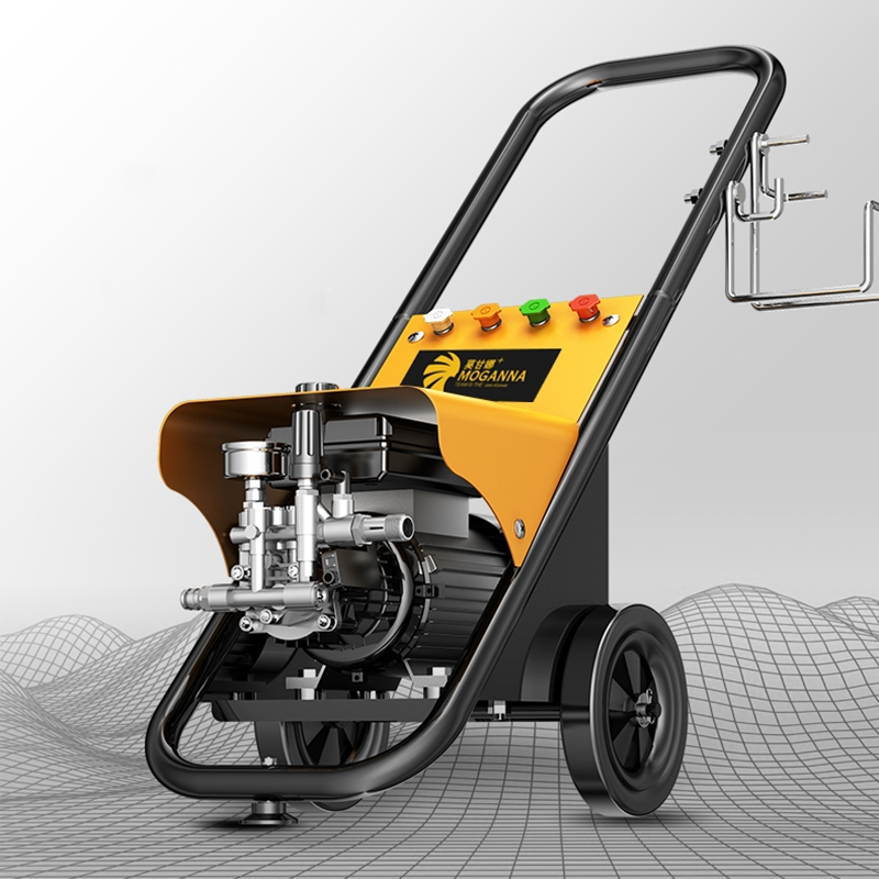 Car-Washing-Machine Water-Pump Big-Wheels-Cleaner Industrial High-Pressure Commercial/household
