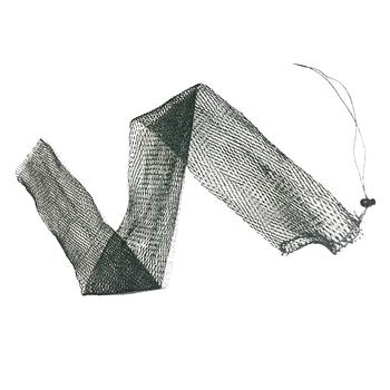 Nylonowa siatka wędkarska 1-1 5m klatka z siatki rybnej obsada pułapka sieć wędkarska przenośne zewnętrzne sieci rybackie siatka Gill netto ultralight tanie i dobre opinie CN (pochodzenie) Żyłka Drobna siatka Foldable None Pojedyncze Sieć ręczna