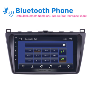 Image 3 - Seicane 9 Inch 2DIN WIFI Bluetooth WIFI GPS Navigation Car Radio Android 9.0  Multimedia Player For 2008 2015 Mazda 6 Rui wing