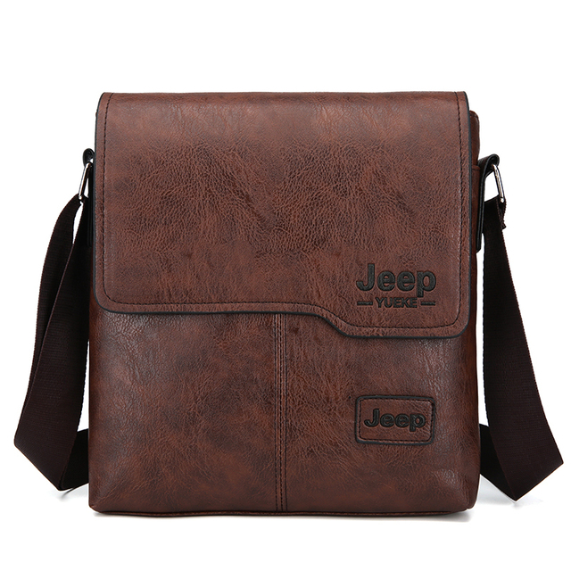 Fashion Men's Handbag Shoulder Bag Vintage Trends PU Leather Retro Messenger Bag Stylish Casual Male Crossbody Shoulder Bag 1