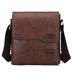 Fashion Men's Handbag Shoulder Bag Vintage Trends PU Leather Retro Messenger Bag Stylish Casual Male Crossbody Shoulder Bag SAC