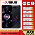 Глобальная прошивка Asus ROG Phone 5 Pro Ultimate 5G игровой телефон 144 Гц Дисплей Snapdragon 888 6000 мАч быстрой зарядки 65 Вт ROG 5 смартфон