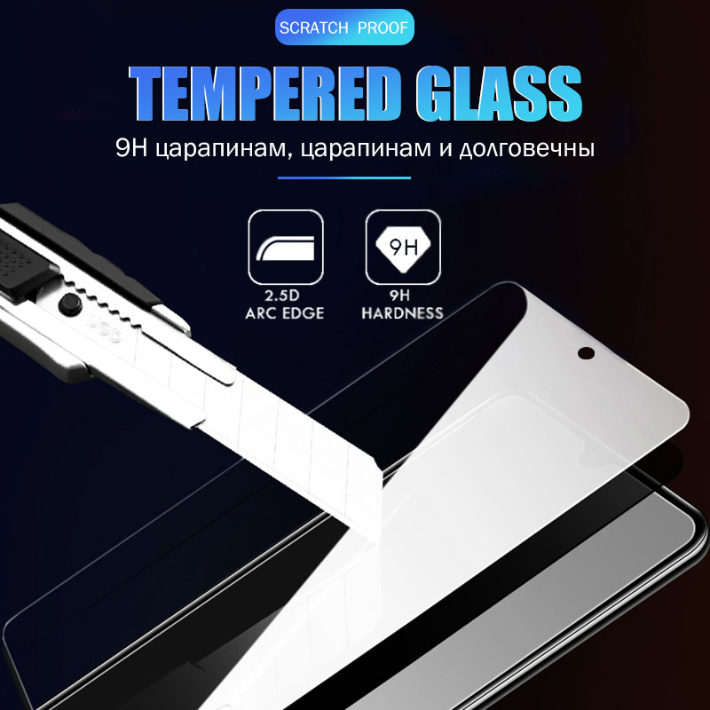 Protective Tempered Glass For Huawei P30 P20 P10 Honor 10 Lite 8X Screen Protector For Huawei Mate 20 Pro Protection Ecran Glass 4