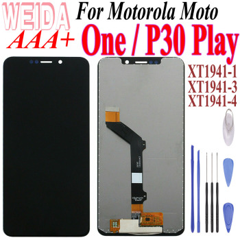 5.9For Motorola Moto One/P30 Play LCD Display Touch Screen Digitizer For Moto P30 Play XT1941-1 XT1941-3 XT1941-4 LCD Replaceme image